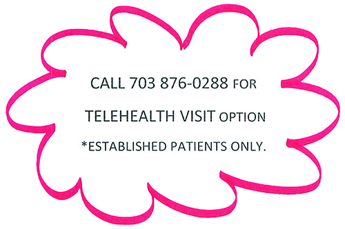 Now offering Telehealth - Telemedicine